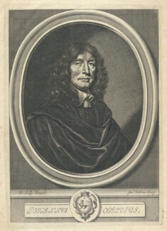 John Ogilby, by William Faithorne, after  Sir Peter Lely - NPG D22880