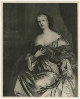 Elizabeth Hamilton, Countess de Gramont, after Sir Peter Lely - NPG D34757