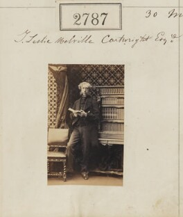 Thomas Robert Brook Leslie-Melville-Cartwright, by Camille Silvy - NPG Ax52176
