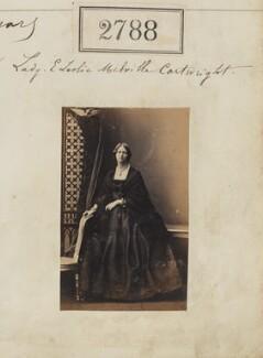 Lady Elizabeth Jane Leslie-Melville-Cartwright (née Leslie-Melville), by Camille Silvy - NPG Ax52177