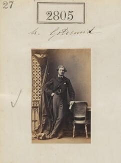 Sir Julian Goldsmid, 3rd Bt, by Camille Silvy - NPG Ax52194