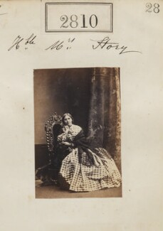 Hon. Helena Matilda Story (née Dillon-Lee), by Camille Silvy - NPG Ax52199