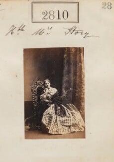 Hon. Helena Matilda Story (née Dillon-Lee), by Camille Silvy - NPG Ax52199