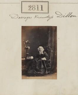 Henrietta (née Browne), Viscountess Dillon, by Camille Silvy - NPG Ax52200