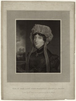 Lady Anne Margaret Grant of Grant, by William Read, published by  J. Grant, after  D. Alexander - NPG D34768