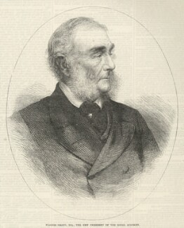 Sir Francis Grant, published by Illustrated London News, after an intermediary drawing by  Thomas Dewell Scott - NPG D34779