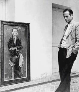 Graham Sutherland, by Elsbeth R. Juda, circa 1950 - NPG x132584 - © Elsbeth R. Juda / V&A Images