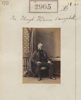 Sir Hugh Purves-Hume-Campbell, 7th Bt, by Camille Silvy - NPG Ax52363