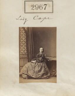 Marianne (née Garnett), Lady Cope, by Camille Silvy - NPG Ax52365