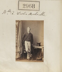 Ronald Ruthven Leslie-Melville, 11th Earl of Leven and 10th Earl of Melville, by Camille Silvy - NPG Ax52366
