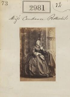 Constance Flower (née de Rothschild), Lady Battersea, by Camille Silvy - NPG Ax52379