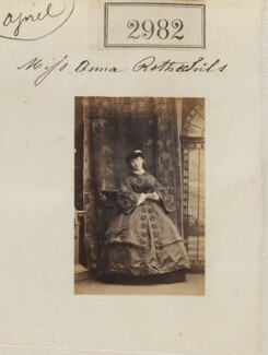 Annie Yorke (née de Rothschild), by Camille Silvy - NPG Ax52380