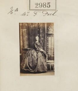 Hon. Adelaide Frances Isabella Peel (née Hanbury-Tracy), by Camille Silvy - NPG Ax52388