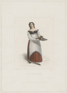 Maria Rebecca Davison (née Duncan), by Robert Cooper, published by  William McDowall, after  Michael William Sharp - NPG D34819