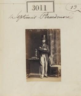 (Samuel) Septimus Beardmore (Berdmore), by Camille Silvy - NPG Ax52414
