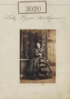 Egidia (née Montgomerie), Lady Rendlesham, by Camille Silvy - NPG Ax52423