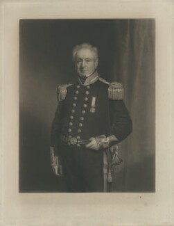 Sir Richard Grant, by James Scott, after  Stephen Pearce - NPG D34782
