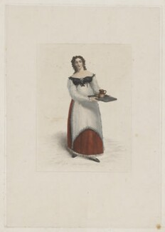 Maria Rebecca Davison (née Duncan), by Robert Cooper, published by  William McDowall, after  Michael William Sharp - NPG D34820