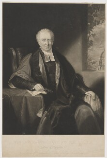 Martin Davy, by Henry Edward Dawe, published by  W. Mason - NPG D34822