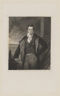 Sir Humphry Davy, Bt, by William Henry Worthington, after  Sir Thomas Lawrence, published 1831 - NPG D34824 - © National Portrait Gallery, London