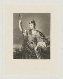 Lady Anne Dawson (née Fermor), by James Scott, after  Sir Joshua Reynolds - NPG D34831