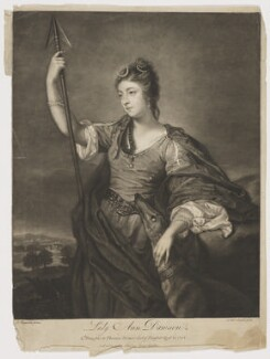 Lady Anne Dawson (née Fermor), by James Macardell, after  Sir Joshua Reynolds - NPG D34832