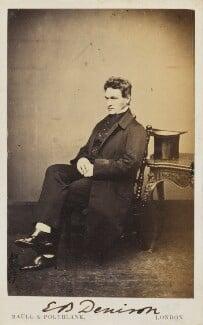 Edmund Beckett (né Edmund Beckett Denison), 1st Baron Grimthorpe, by Maull & Polyblank - NPG Ax10013