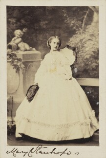 Mary Catherine Lygon (née Stanhope), Countess Beauchamp, by Camille Silvy - NPG Ax10015
