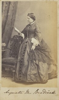 Augusta Mary (née Fremantle), Viscountess Midleton, by Unknown photographer - NPG Ax10021