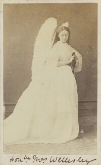 Magdalen Wellesley (née Montagu), by Hills & Saunders - NPG Ax10023