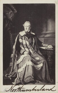 Algernon Percy, 4th Duke of Northumberland, after Sir Francis Grant - NPG Ax10026