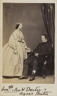 Frederick Bertie; Agnes Bertie, by Hennah & Kent - NPG Ax10027