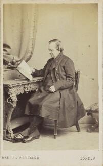Samuel Wilberforce, by Maull & Polyblank - NPG Ax10047