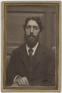 Philip Norman, by Frederick Hollyer - NPG Ax13948