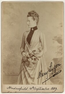Lady Mary Hepburn-Stuart-Forbes-Trefusis (née Lygon), by John Edwards - NPG Ax13950