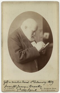 Sir George Scharf, by John James Fisher, 6 February 1889 - NPG Ax13957 - © National Portrait Gallery, London