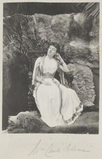 Madeline Pamela Constance Blanche Adeane (née Wyndham), by Cyril Flower, 1st Baron Battersea, 1890s - NPG Ax15626 - © National Portrait Gallery, London