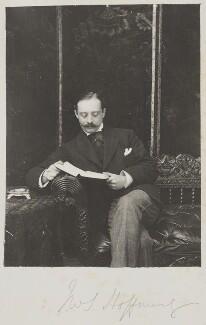J.W. Hoffnung, by Cyril Flower, 1st Baron Battersea - NPG Ax15629