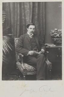 (Arthur) George Villiers Peel, by Cyril Flower, 1st Baron Battersea - NPG Ax15633