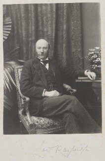 John Strutt, 3rd Baron Rayleigh, by Cyril Flower, 1st Baron Battersea - NPG Ax15637