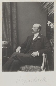 Reginald Baliol Brett, 2nd Viscount Esher, by Cyril Flower, 1st Baron Battersea - NPG Ax15639