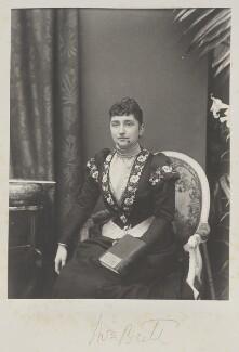 Eleanor Frances Weston (née Van de Weyer), Viscountess Esher, by Cyril Flower, 1st Baron Battersea - NPG Ax15640