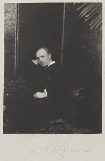 (Frederic) Rudolph Lambart, 10th Earl of Cavan, by Cyril Flower, 1st Baron Battersea, 1890s - NPG Ax15642 - © National Portrait Gallery, London