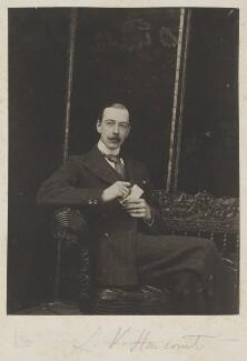Lewis Harcourt, 1st Viscount Harcourt, by Cyril Flower, 1st Baron Battersea, 1890s - NPG Ax15698 - © National Portrait Gallery, London