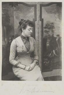 Madeline Pamela Constance Blanche Adeane (née Wyndham), by Cyril Flower, 1st Baron Battersea - NPG Ax15720
