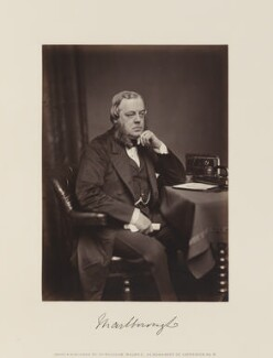 John Winston Spencer Churchill, 7th Duke of Marlborough, by and published by William Walker - NPG Ax15844