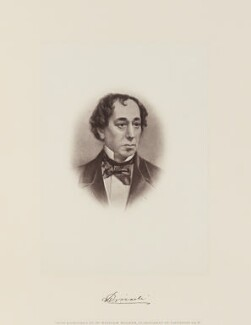 Benjamin Disraeli, Earl of Beaconsfield, by William Walker - NPG Ax15850