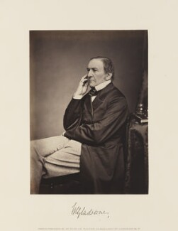 William Ewart Gladstone, by and published by William Walker - NPG Ax15866