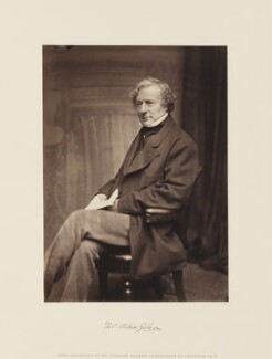 Thomas Milner-Gibson, by William Walker, circa 1865 - NPG Ax15869 - © National Portrait Gallery, London