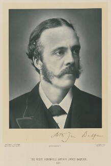 Arthur James Balfour, 1st Earl of Balfour, by James Russell & Sons - NPG Ax15876
